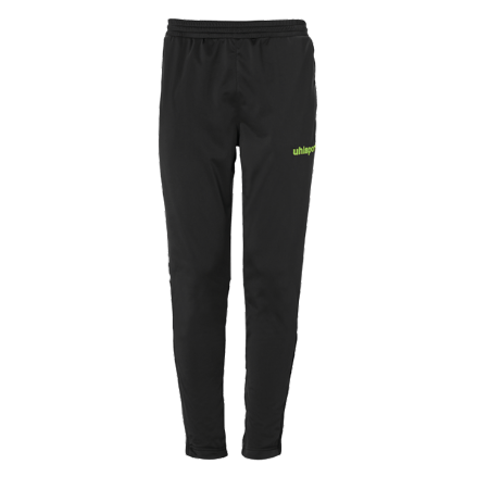 Score Track Pants Black / Fluo Green